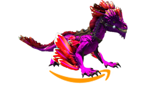 Ark-Survival-Evolved-PC-PVE-NEW-PURPLE-RED-ROCK-DRAKE-clone-LVL-185