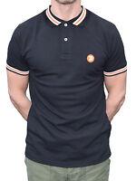 Trojan Records Black Stripe Polo Shirt Mod Clothing Northern Soul Ska Skinhead