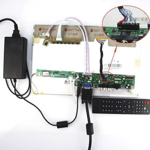 TV HDMI LCD VGA CVBS RF Controller board kit for B141EW01 V3 V4 1280*800 14.1/""