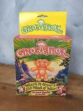 "Vintage 1992 Gro-A-Troll in Original Box ""Watch it Grow a Full Head of Hair!"""