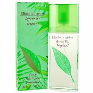 Profumo Donna Elizabeth Arden Green Tea Tropical  Edt 100ml + Campioncini Regalo