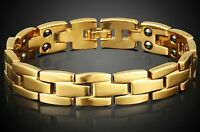 Copper Unisex Magnetic Bracelet Pain Relief Anti Fatigue Immunity Enhancer