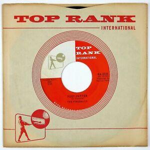 FIREBALLS-Foot-Patter-Kissin-039-7IN-1960-ROCKABILLY-NM
