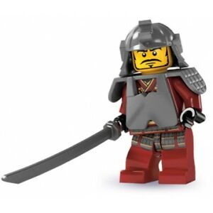 4-LEGO-Minifig-series-3-Samurai-castle-ninjago-ninja
