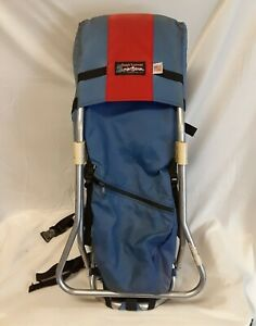 TOUGH-TRAVELER-Nylon-CHILD-INFANT-CARRIER-Backpack-Camping-Hiking-Baby-Seat-USA
