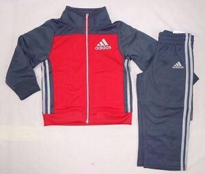 Adidas-Baby-Boys-039-set-Baby-boys-Adidas-Impact-Tricot-set-sizes-12-24-months