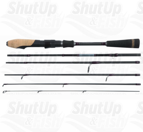Blackrock Geotrex Ultra Light LRF Travel Fishing Rod 0.6-8g 6 Sections