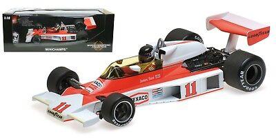 Minichamps McLaren M23 #11 1976 - James Hunt 1976 F1 World Champion 1/18 Scale