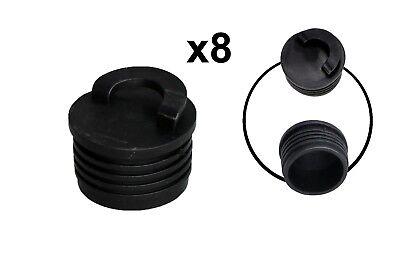 4pcs Kayak Scupper Plug Scupper Canoe Drain Holes Stoppers w//Pulling Ring Kit
