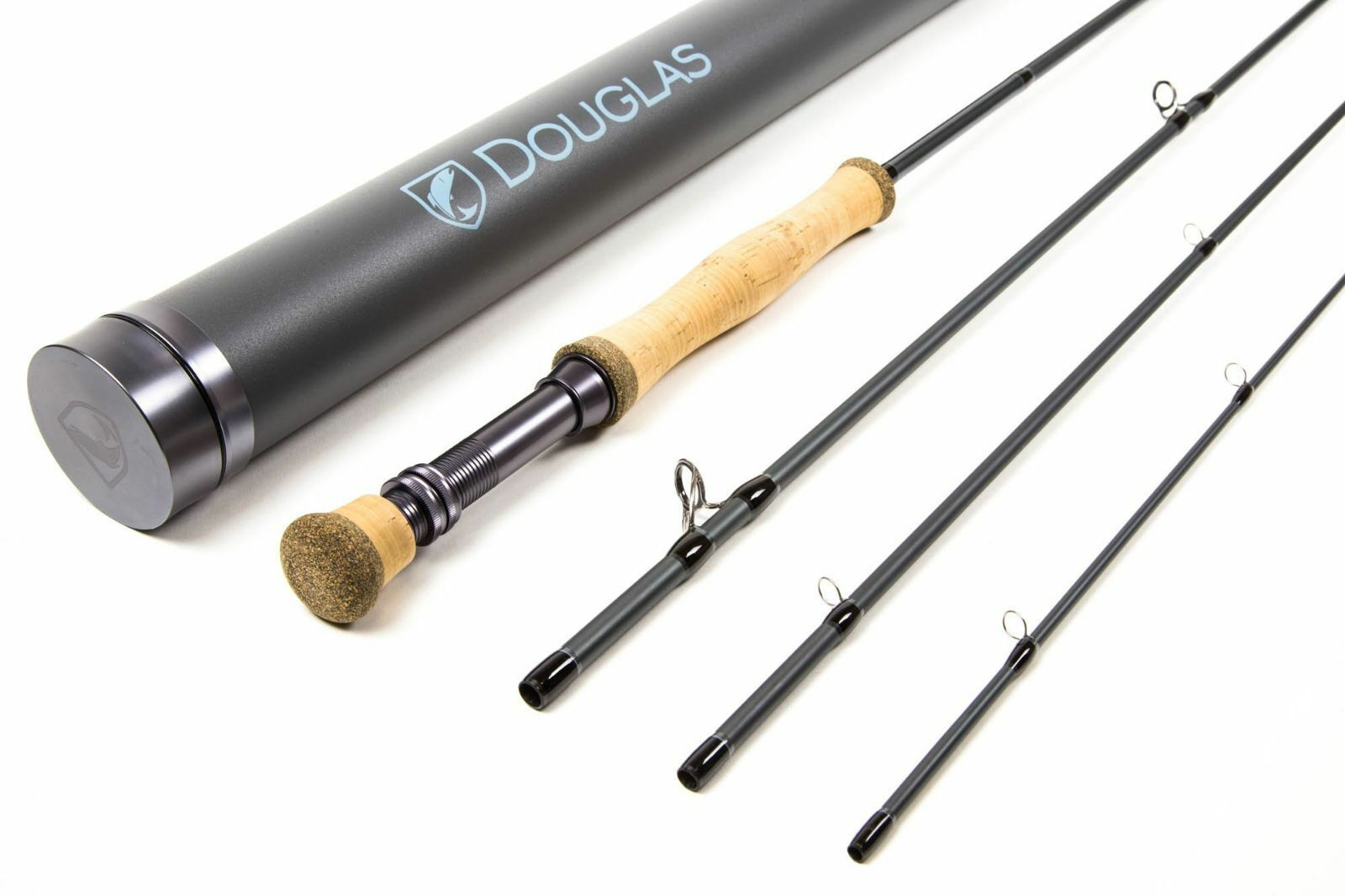 NEW DOUGLAS SKY 8904 9' WEIGHT FLY ROD WITH TUBE WARRANTY FREE  FLY LINE