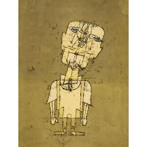 Paul-Klee-Gespenst-Eines-Genies-Ghost-Of-A-Genius-Large-Canvas-Art-Print