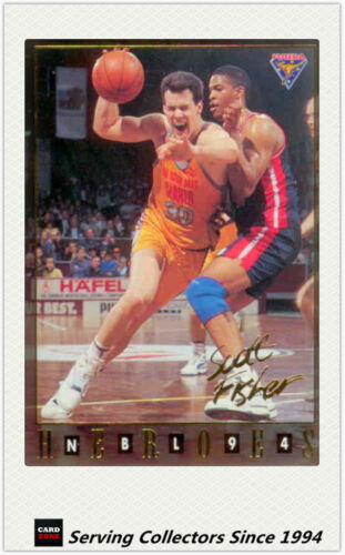 1994 Australia Basketball Card NBL Series 2 National Heroes NH10Scott Fisher