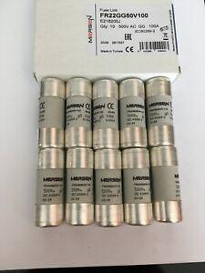 FR22GG69V100-100A-Mersen-Ferraz-Shawmut-E218205-Fuse-JPSF766-Qty-of-1-5-10