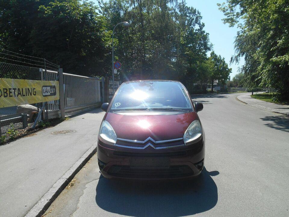 Citroën Grand C4 Picasso 1,6 HDi 110 7prs Diesel modelår