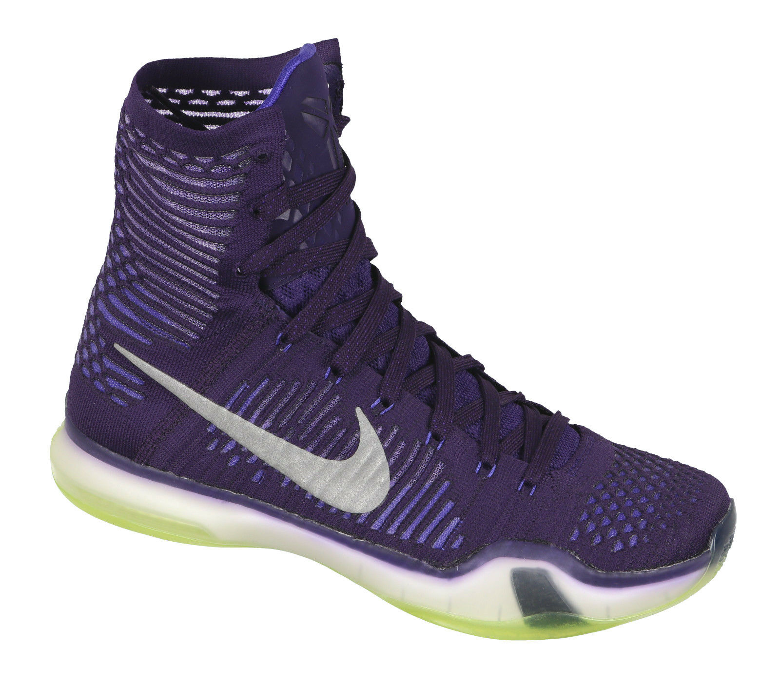 zu billig Kobe Nike X Elite Basketballschuhe Sz Grand Lila