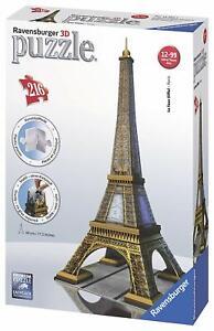 RAVENSBURGER-PUZZLE-3D-TORRE-EIFFEL-TOWER-216-Pezzi-125562
