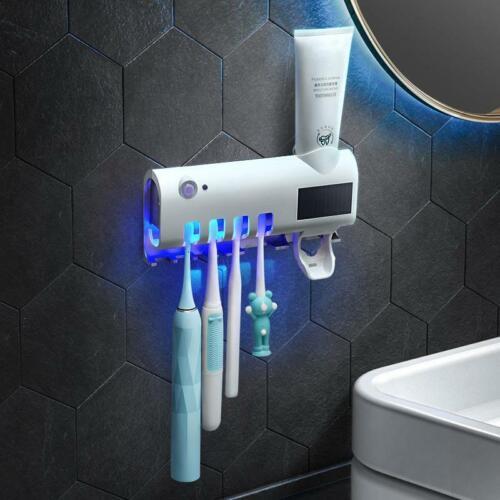 UV Elektrische Zahnbürste Sterilisator Wandhalterung Zahnbürste-Speicher-Halter