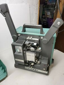 Vintage-BELL-amp-HOWELL-16mm-Movie-PROJECTOR-FILMOSOUND-Model-1585-for-parts
