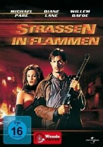 STRASSEN-IN-FLAMMEN-DVD-NEUWARE-MICHAEL-PARE-DIANE-LANE-RICK-MORANIS