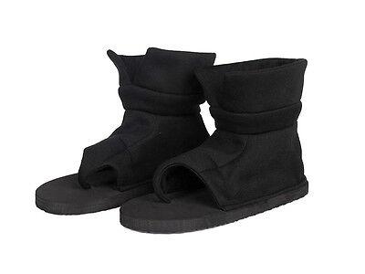 Naruto Shippuden Cosplay Costume Accessory Hidden Sand Kankuro Black Shoes US#10