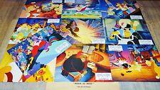 ROCK-O- RICO  ! Don Bluth jeu 10 photos cinema lobby cards bd