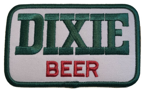 """Vintage Dixie Beer Patch 4/""""x 2.5/"""" Hat Patch"""
