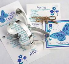 2 ANN CLARK~BUTTERFLIES ~ tin cookie cutter~MADE IN USA (NEW) SALE!