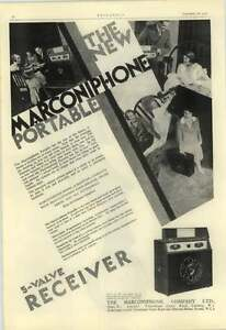 1928 The New Marconi Phone Portable Radio 28 Guineas Size Of A Suitcase - <span itemprop='availableAtOrFrom'>Bishop Auckland, United Kingdom, United Kingdom</span> - Returns accepted Most purchases from business sellers are protected by the Consumer Contract Regulations 2013 which give you the right to cancel the purchase withi - <span itemprop='availableAtOrFrom'>Bishop Auckland, United Kingdom, United Kingdom</span>