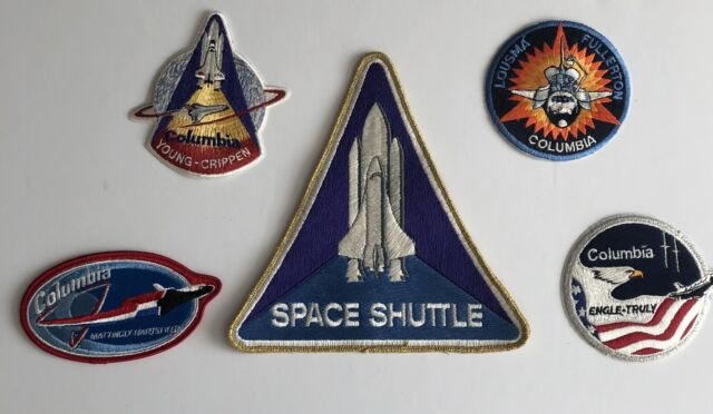 Vintage Patches for Jackets Vintage Patches for Hats Space Gifts Vintage NASA Space Shuttle Patch NASA Patch Travel Patch Space Patch