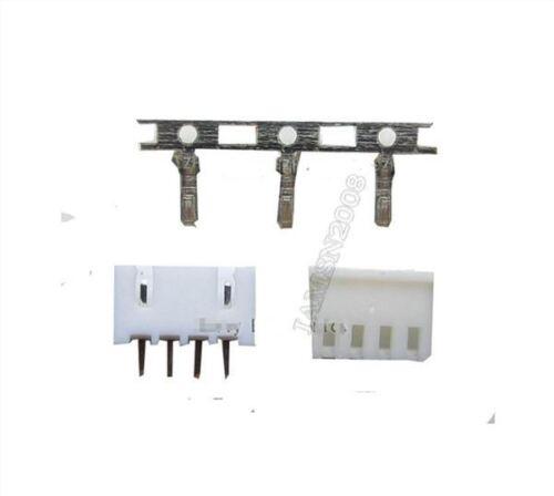 100 Stücke XH2.54 Stecker Kit 2.54MM Pin Header Terminal Gehäuse XH2.54-4P fp
