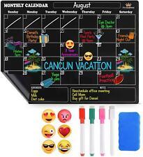 Magnetic Dry Erase Calendar For Fridge Large Monthly Refrigerator Calendar 6