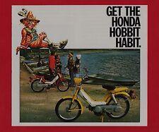 1978 HONDA PA50 HOBBIT MOPED Original SALES BROCHURE