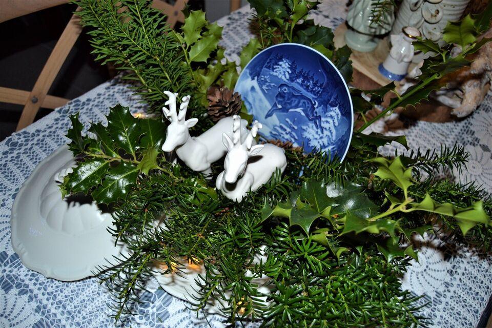 hjorte ,porcelæn