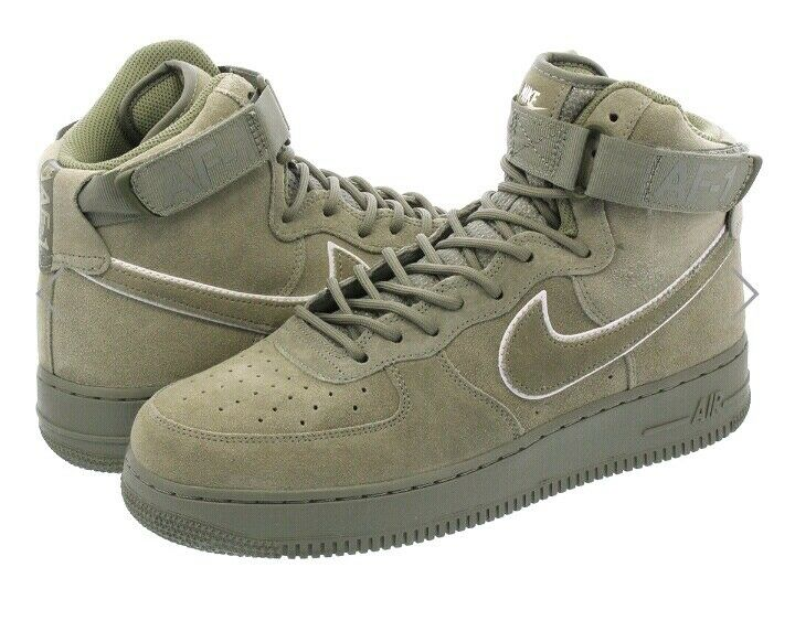 Nike Air Force 1 High '07 Mens Sz us 9.5 Dark Stucco oatmeal-mushroom 315121 048
