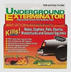 Details about Underground Exterminator - Kills Moles, Gophers, Rats,  Groundhogs and More