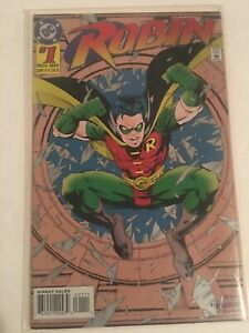 ROBIN #1 (1993) DC COMICS FOIL COVER BAGGED AND BOARDED