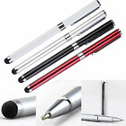 Stylus Ballpoint Pen Touch Screen 2 in 1 for iPad iPhone Samsung HTC Sony Tablet