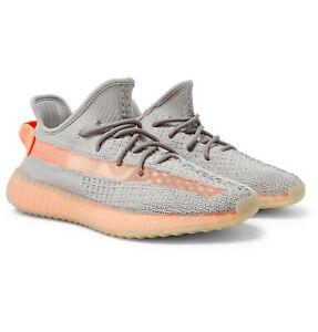 Details about Adidas Yeezy Boost 350 V2 True Form Grey Orange Clay TRFRM UK 9.5 US 10 EU 44