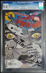 Amazing-Spider-Man-561-Marvel-Comics-CGC-9-8-White-Pages