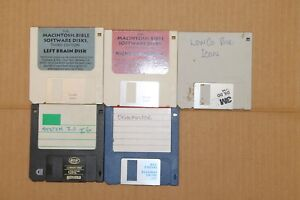 Mac-Bible-Software-Disks-3rd-Edition-Right-Left-Brain-amp-System-3-5-034-Floppy-Disk