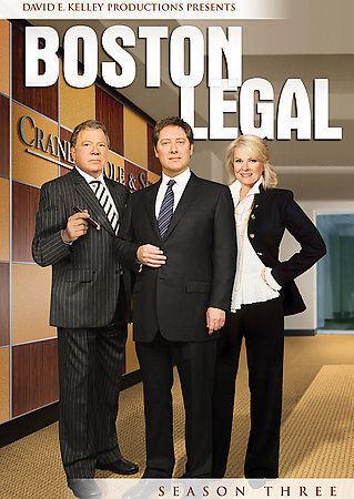 Boston Legal Season 3 Three  DVD 1