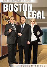 Boston Legal - Season 3 (DVD, 2009, 7-Disc Set)