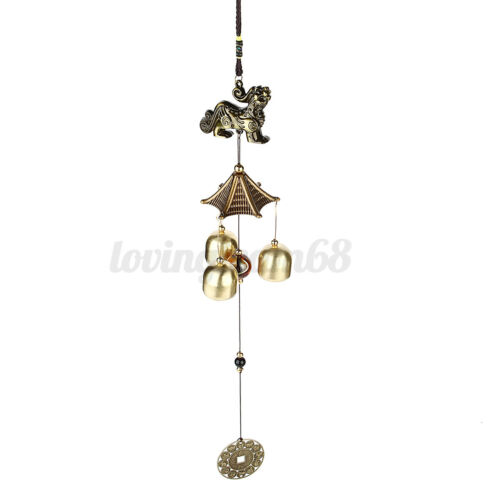 Wind Chime Bells Lucky Fish Elephant Garden Outdoor Windows Hanging Ornament