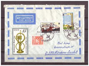 Charitable Rda, Lupo Mif Sst Leipzig-messe Aéroport 14.03.1981-afficher Le Titre D'origine Ventes Pas ChèRes 50%