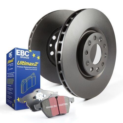 EBC Brakes S1KF1507 S1 Kits Ultimax 2 and RK Rotors Fits 03-11 9-3 9-3X
