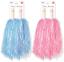 Blue-Pink-Party-Pom-Poms-Baton-Fancy-Dress-Cheerleader-Pompom-Decoration thumbnail 3