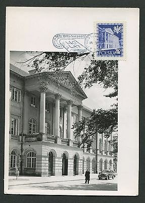 Neuartige Designs Polen Mk 1958 Warschau UniversitÄt Maximumkarte Carte Maximum Card Mc Cm D5242 BerüHmt FüR AusgewäHlte Materialien Herrliche Farben Und Exquisite Verarbeitung