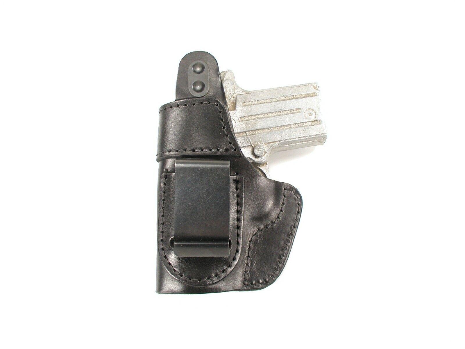 BLACK LEATHER OWB BELT SLIDE HOLSTER w// THUMB BREAK for TAURUS PT 909 940 945