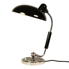 ORIGINAL KAISER  IDELL Luxus Präsident Desk Lamp Top Screw Dome VERCHROMT