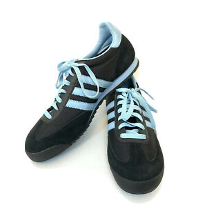 Adidas-Originals-Dragon-Womens-10-Blue-Sneakers-Retro-Athletic-Shoes-Running